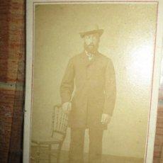 Fotografía antigua: FOTOGRAFIA ANTIGUA SIGLO XIX CIERTO PARECIDO AL PINTOR LAUTREC FOTOGRAFIA ANVERS. Lote 225348280