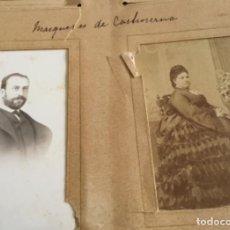 Fotografía antigua: FOTOS ANTIGUAS MARQUESES DE CASTROSERNA ?. Lote 225982573