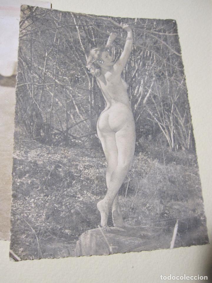 Fotografía antigua: SEIS FOTOGRAFIAS DE DESNUDOS FEMENINOS. HACIA 1940?. 15 X 10,5 CM - Foto 3 - 227601725