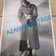 Fotografía antigua: SEMANA SANTA SEVILLA, ESPECTACULAR FOTOGRAFIA DE NTRO.PADRE JESUS DE PASION,18X24 CMS. Lote 227800870