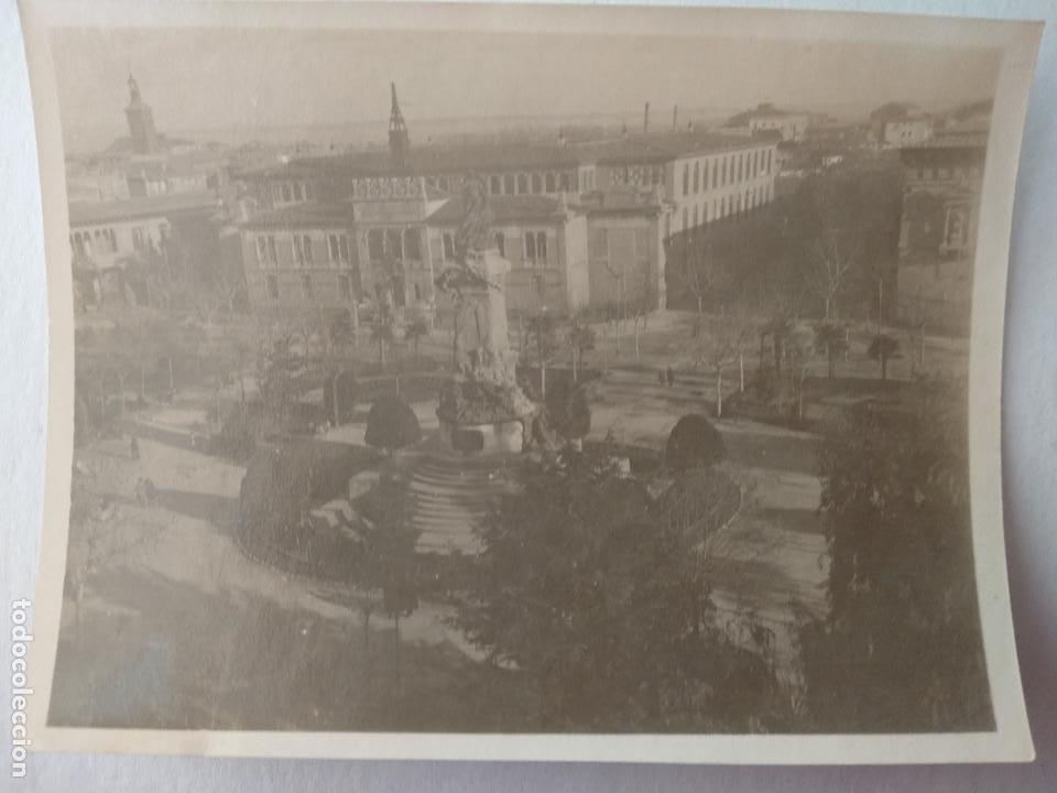 FOTO PLAZA DE LOS SITIOS, ZARAGOZA. 11CM X 8CM. (Fotografía - Artística)