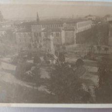 Fotografía antigua: FOTO PLAZA DE LOS SITIOS, ZARAGOZA. 11CM X 8CM.. Lote 228197090
