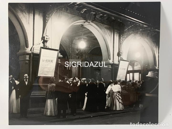 Fotografía antigua: FRANCESC CATALA ROCA FOTOGRAFIA ORIGINAL TEATRO DEL LICEO BARCELONA LA BOHEME - Foto 7 - 228714370