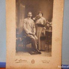 Fotografia antica: FOTOGRAFÍAS ANTIGUAS. J. ROVIRA. SAN PABLO, 22. BARCELONA. MEDIDAS 13*19 CM.. Lote 231468015
