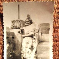 Photographie ancienne: TRAJE REGIONAL DE VALENCIA - FALLERA. Lote 232568435