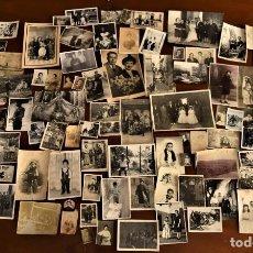 Fotografia antica: LOTE DE 100 FOTOGRAFÍAS DE UN MISMO PROPIETARIO UBICADO ENTRE JÁTIVA Y SEGORVE MUY INTERESANTES. Lote 232637535