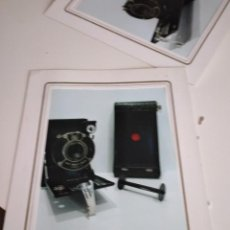Fotografía antigua: C-GRA LOTE DE DOS FOTOS DE CAMARA FOTOGRAFICA. Lote 233993170