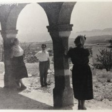 Fotografia antiga: FOTOGRAFÍA MIRADOR COSTA ALICANTINA JÁVEA ? CALPE ? IDENTIFICAR. Lote 235611505