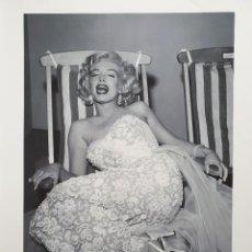 Fotografía antigua: MARILYN MONROE. HOLLYWOOD ICONS. FOTOGRAFIAS EN BLANCO Y NEGRO. MAMAGRAF. Lote 235814735