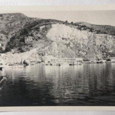 Fotografía antigua: FOTOGRAFÍA COSTA ALICANTINA CALPE PEÑÓN DE IFACH JÁVEA ALTEA DENIA PERTO. Lote 235854230