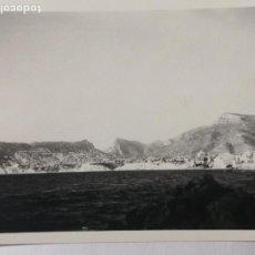 Fotografía antigua: FOTOGRAFÍA COSTA ALICANTINA CALPE PEÑÓN DE IFACH JÁVEA ALTEA DENIA PERTO CABO SAN ANTONIO. Lote 235854380