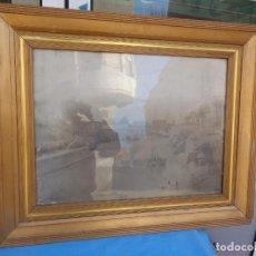 Fotografía antigua: GRAN FOTOGRAFÍA MOLINO Y BARCA DEL MARQUES. MURCIA.. Lote 236040525