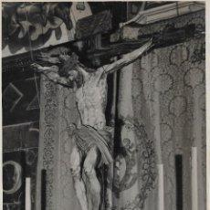 Fotografía antigua: SEVILLA-SEMANA SANTA-EL CRISTO DEL CALVARIO-MEDIDAS 23X17. Lote 236205220