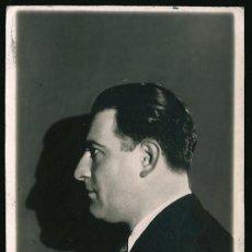 Fotografía antigua: 12 - JOSE FRANCISCO BERRINI DIRECTOR DE ORQUESTA Y SU SOMBRA SURREALISMO FOTO POSTAL 1930' GAY INT. Lote 236326445