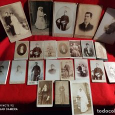 Fotografía antigua: 23 FOTOGRAFIAS ARTISTICAS ANTIGUAS DEL AÑO 1900. Lote 236333545