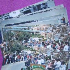 Fotografía antigua: LOTE 24 FOTOS RALLY SITGES BARCELONA FOTOGRAFIA VER FOTOS ADICIONALES. Lote 236351395