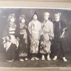 Fotografía antigua: FOTOGRAFIA ANTIGUA JAPONESA. TEATRO TRADICIONAL. PRINCIPIOS SIGLO XX . BELLÍSIMA. Lote 236354580