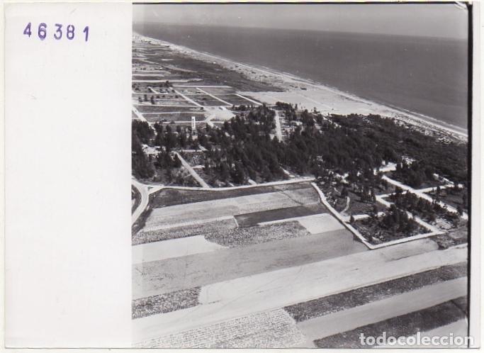 FOTOGRAFIA AEREA DE HUELVA. ISLA CRISTINA. 17,8X13 CM. FOTOHUELVA-535 (Fotografía - Artística)