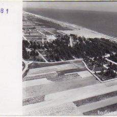 Fotografía antigua: FOTOGRAFIA AEREA DE HUELVA. ISLA CRISTINA. 17,8X13 CM. FOTOHUELVA-535. Lote 236512555