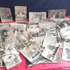 Fotografía antigua: LOTE DE FOTOS ANTIGUOS DE OBRAS TEATRO EN BARCELONA VER FOTOS. Lote 236565825