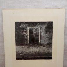 Fotografía antigua: INTERESANTE FOTOGRAFIA ARTISTICA ORIGINAL 1985 - FIRMA ILEGIBLE - FINESTRA. Lote 237157615