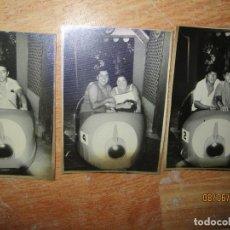 Fotografía antigua: ATRACCION DE FERIA NAVE ESPACIAL AÑOS 50 EN ALICANTE. Lote 238206705