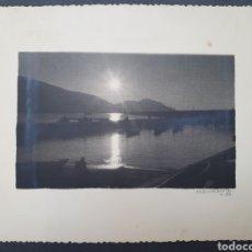 Fotografía antigua: FOTOGRAFIA ARTISTICA. COPIA FIRMADA. J. D. ECHEVARRIA. AÑO 1953.. Lote 238744345