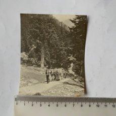 Fotografia antica: FOTO. CARRETERO CON CARGA DE LEÑA. FOTÓGRAFO?:. Lote 241080640