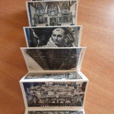 Fotografía antigua: REAL CARTUJA DE SANTA MARÍA DE MIRAFLORES, BURGOS - 12 FOTOGRAFÍAS EN MINIATURA. Lote 241404435