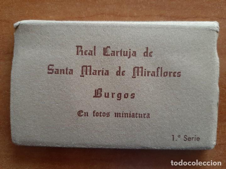 Fotografía antigua: REAL CARTUJA DE SANTA MARÍA DE MIRAFLORES, BURGOS - 12 FOTOGRAFÍAS EN MINIATURA - Foto 2 - 241404435