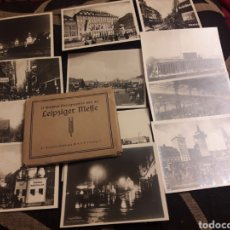 Fotografía antigua: CARPETA CON 12 ANTIGUAS FOTOGRAFÍASS DE LEIPZIGER. Lote 242414335