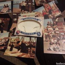 Fotografía antigua: CARPETA CON 12 ANTIGUAS FOTOGRAFÍASS DE HOLANDA. Lote 242416545