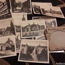 Fotografía antigua: 12 ANTIGUAS FOTOGRAFÍASS DE FRANKFURT. Lote 242421755