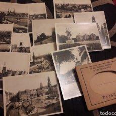 Fotografía antigua: 12 ANTIGUAS FOTOGRAFÍASS DE DRESDEN. Lote 242422225