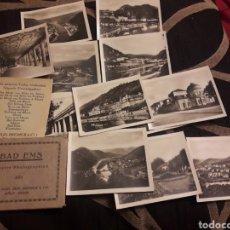Fotografía antigua: DOCE ANTIGUAS FOTOGRAFÍASS, EL RHEIN POR MAINZ. Lote 242423005