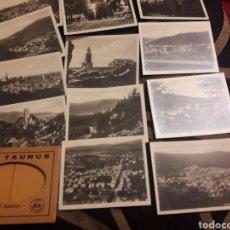 Fotografía antigua: DOCE ANTIGUAS FOTOGRAFÍASS, DER TAUNUS. Lote 242423780