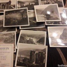 Fotografía antigua: DOCE ANTIGUAS FOTOGRAFÍAS DER RHEIN. Lote 242424350
