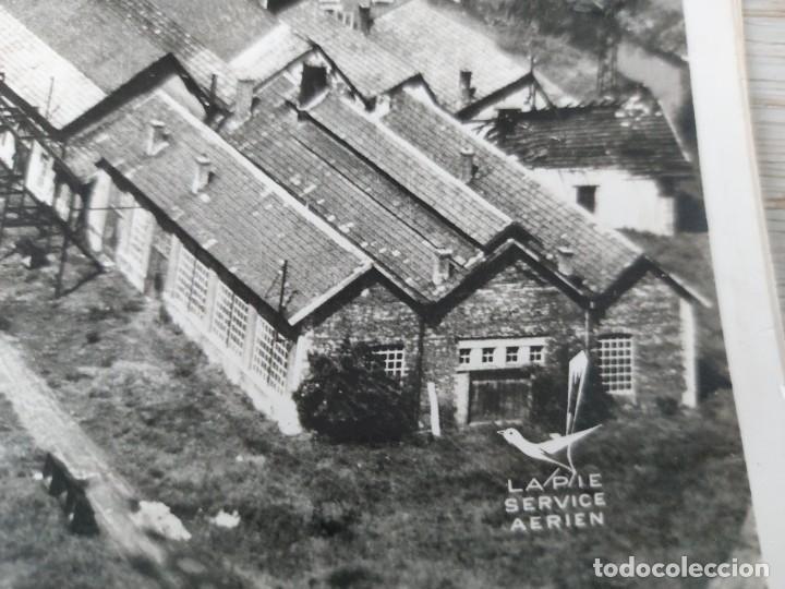 Fotografía antigua: FOTOGRAFIA AÉREA DE FRANCIA LUSINE - LES FORGES DE MORVILLARS DANS LA TROUEE DE BELFORT - AÑO 1958 - Foto 4 - 243531090