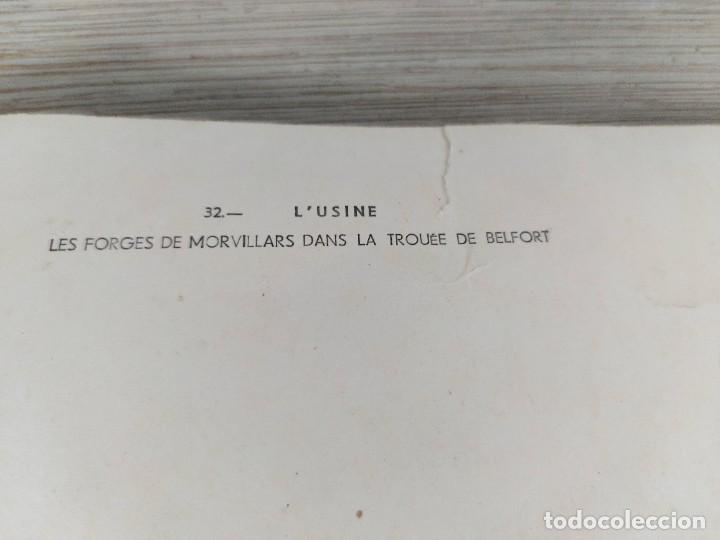 Fotografía antigua: FOTOGRAFIA AÉREA DE FRANCIA LUSINE - LES FORGES DE MORVILLARS DANS LA TROUEE DE BELFORT - AÑO 1958 - Foto 5 - 243531090