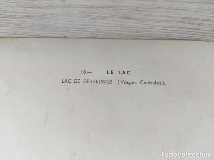 Fotografía antigua: ANTIGUA Y PRECIOSA FOTOGRAFIA AÉREA DE FRANCIA LE LAC - LAC DE GERARDMER VOSGES CENTRALES - AÑO 1958 - Foto 2 - 243532305