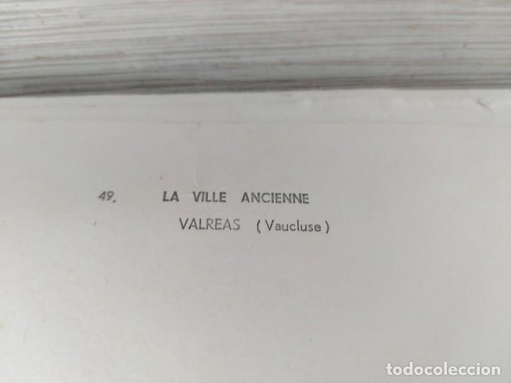 Fotografía antigua: ANTIGUA Y PRECIOSA FOTOGRAFIA AÉREA DE FRANCIA LA VILLE ANCIENNE DE VALREAS EN VAUCLUSE - AÑO 1958 - - Foto 3 - 243532815