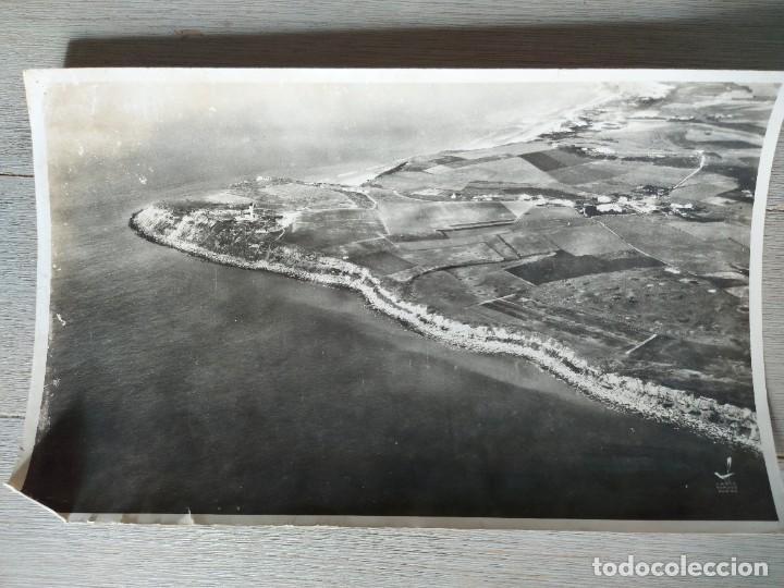ANTIGUA Y PRECIOSA FOTOGRAFIA AÉREA DE FRANCIA - LE CAP GRIS NEZ - AÑO 1958 - LAPIE SERVICE AERIEN - (Fotografía - Artística)
