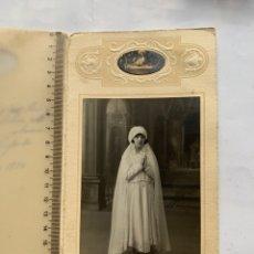 Fotografía antigua: FOTO. RECUERDO DE MI PRIMERA COMUNIÓN. BOLDUN, FOTÓGRAFO. VALENCIA. 11 MAYO 1930.. Lote 243859915