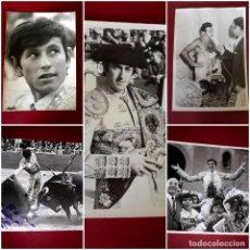Fotografía antigua: LOTE DE 52 FOTOGRAFIAS SUELTAS DE FIGURAS DEL TOREO ( MUCHAS FIRMADAS) Y ALBUM CON 40 FOTOGRAFÍAS. Lote 244887920