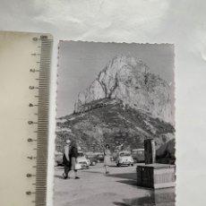 Fotografia antica: FOTO. CALPE. PEÑÓN DE IFACH. FOTÓGRAFO?.. Lote 244986605