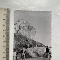 Fotografia antica: FOTO. PEÑÓN DE IFACH. CALPE. ALICANTE. FOTÓGRAFO?.. Lote 244986930