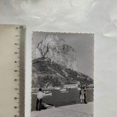 Fotografia antica: FOTO. PEÑÓN DE IFACH Y PUERTO. CALPE. ALICANTE. FOTÓGRAFO?.. Lote 244987170