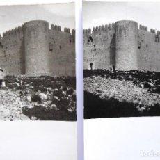 Fotografía antigua: F-5016. CASTILLO DE MONTGRÍ (GIRONA). TORROELLA DE MONTGRÍ. 2 FOTOGRAFIAS. AÑO 1960. Lote 245501010