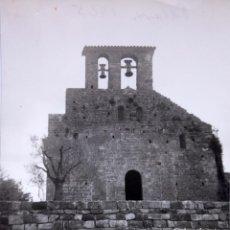 Fotografía antigua: F-5024. PALERA (GIRONA). IGLESIA DEL SANTO SEPULCRO. AÑO 1965. Lote 245503105