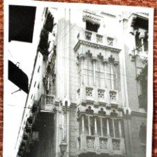 Fotografia antiga: VALENCIA - CALLE CABALLEROS. Lote 247959580